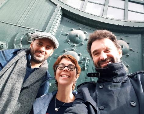 Mauro, Seb, Karin oct 2019